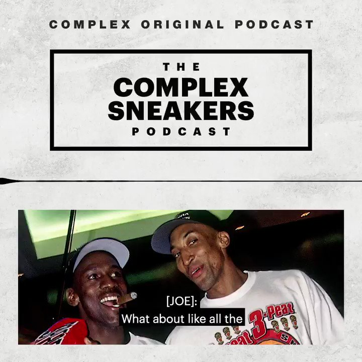 Michael Jordan still has some of his gear and game-worn sneakers from his playing days. @HEIRMJ shared memories of growing up in the Jordan household on the Complex Sneakers Podcast. Listen: pod.link/complex-sneake…