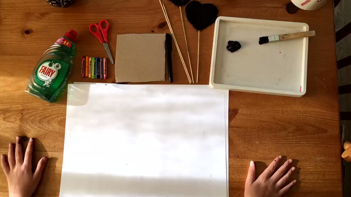 This month we have been sharing fantastic free family activities as part of #GetCreativeAtHome. Why not try out making your own Rainbow Scratchboard🎨 🌈! All you need is card, crayons, scissors, paint, washing up liquid and skewers... #MuseumFromHome orlo.uk/D8xbR