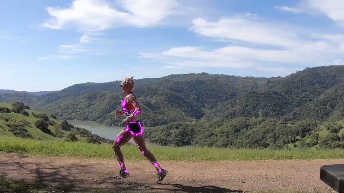 Running speaks the language of electromagnetic! @lakesonoma50