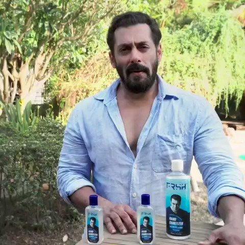 Launching my new grooming & personal care brand FRSH! @FrshGrooming Yeh hai aapka, mera, hum sabka brand jo layega aap tak behtareen products. Sanitizers aa chuke hain, jo milenge aapko yaha Toh try karo! @FrshGrooming ko follow karo! #RahoFrshRahoSafe