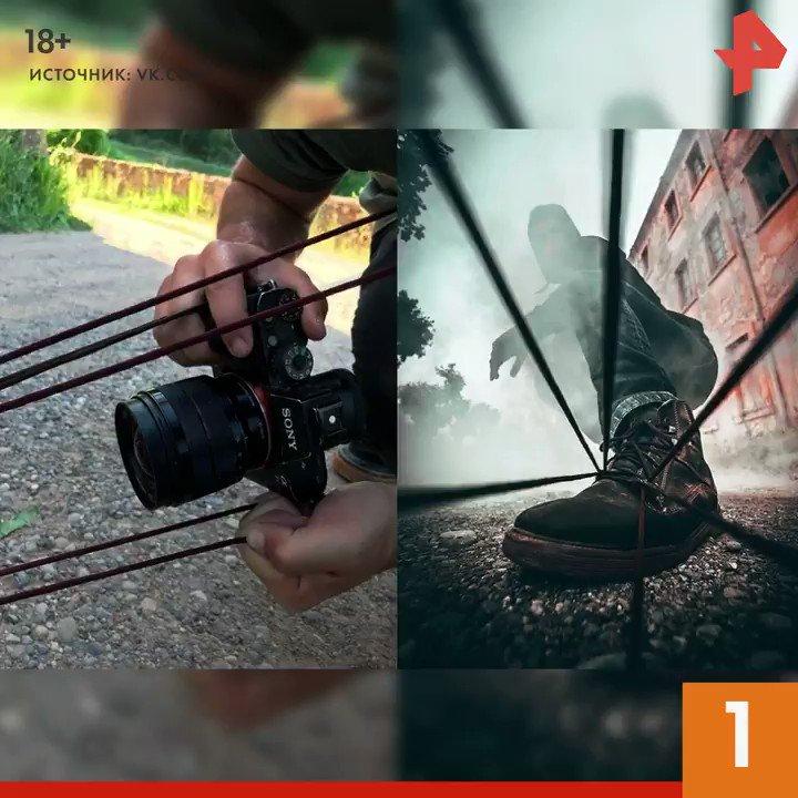 Ставь #лайк, если тоже считаешь, что профессия фотографа не только интересная, но и сложная. Кстати, какой из приемов вам понравился больше всего? #РЕНТВ #видео #интересно #вау #фото #фотограф #лайфхак #фотосессия #DIY #подпишись pic.twitter.com/mM1wBfRu5Y