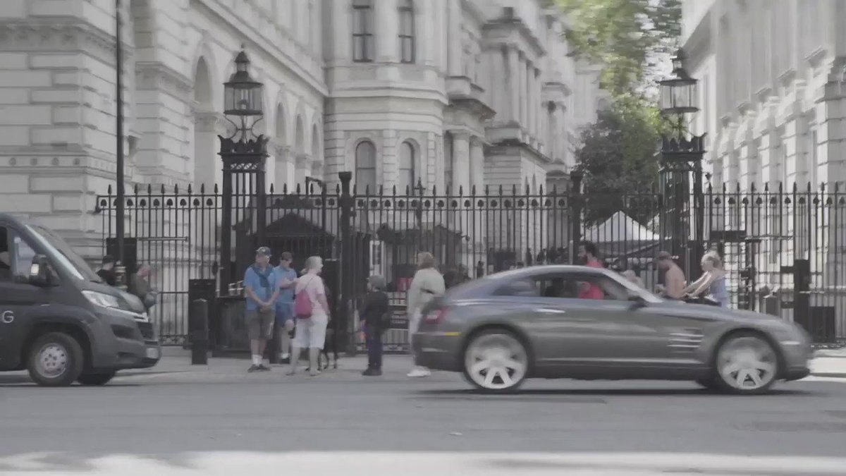 Downing Street - sound on