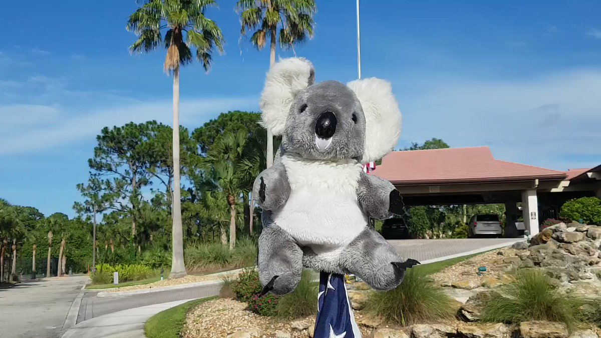 VERY PROUD ... To be @StLucieTrail #StLucieTrail #golf #SouthFlorida @VisitStLucie on #memorialdayweekend2020   And reminded 🇦🇺 #anzacday2020 👍👏 https://t.co/ZhvgH310DO
