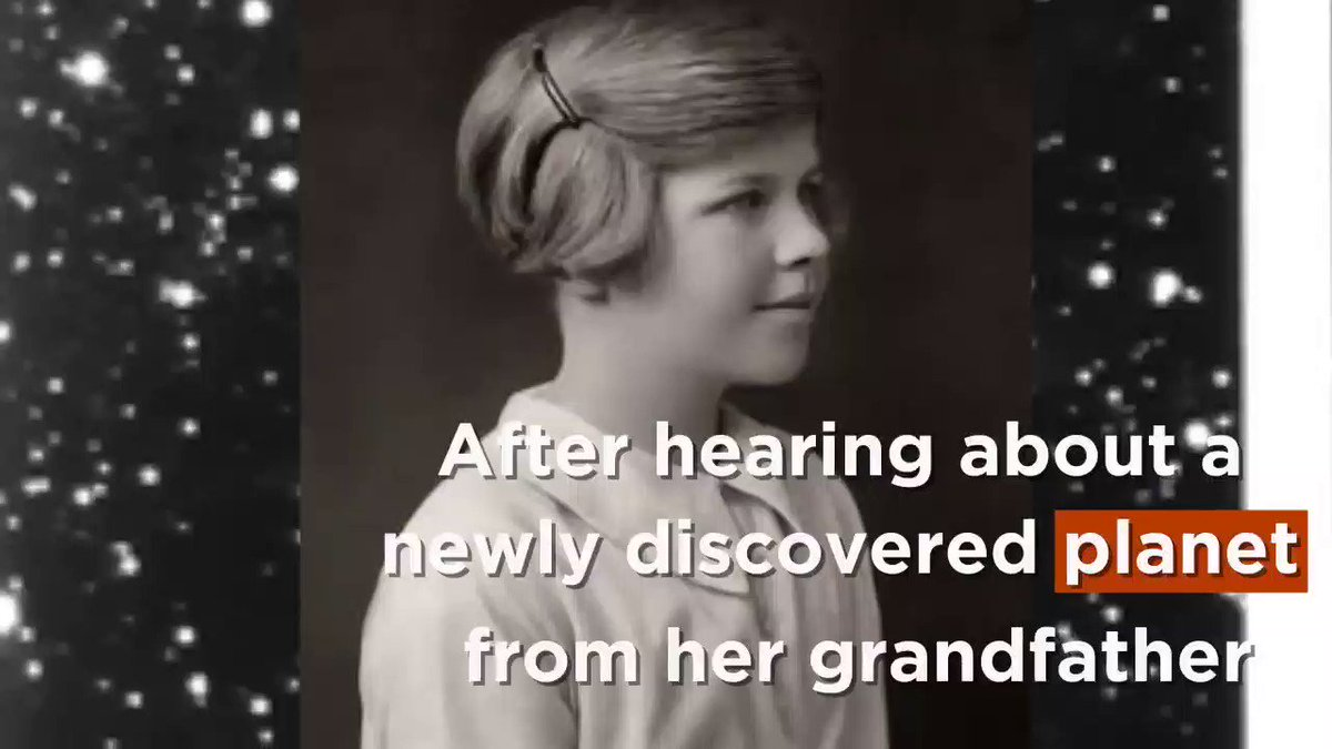 On this day in 1930: Pluto was named.  11-year old Venetia Burney proposed the name, based on her interests in astronomy and classical mythology. https://t.co/h4YGo1jkPh