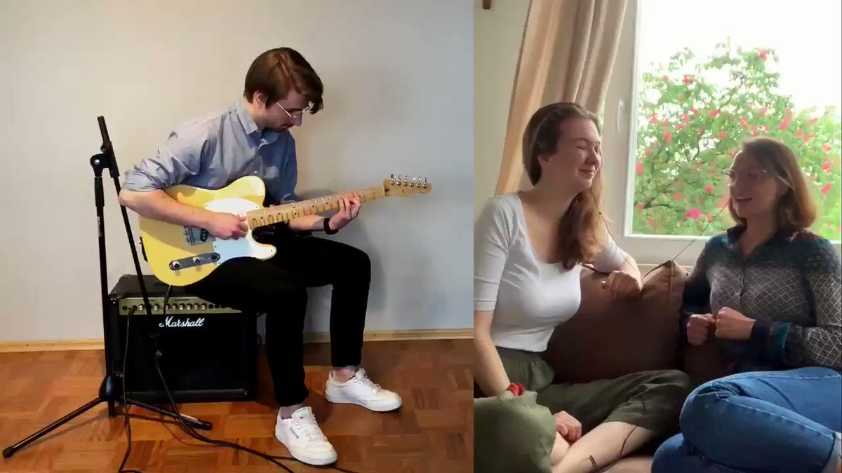 Dream A Little Dream of Me - Collaboration Cover   Full video on Youtube: https://youtu.be/9hjPwwVP43s   #music #cover #duet #guitar #vocals #dreamalittledream #QuarentineLife #QuarentineMusic #StayHome #live #song #collaborationpic.twitter.com/aEPwmy3XTo