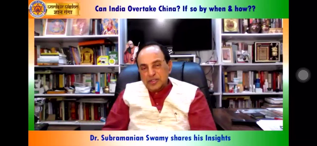 Dr @Swamy39 जी listening to you in #GyanGanga i feelIndia not only collapsing in Economic Front but we are losing on Defence too bcoz of wrong policies & lack of qualified ministers in PM Modi Govt who has no spine to take tough decisions or protectIND Interest @jagdishshettypic.twitter.com/a1hz2ZGGpV