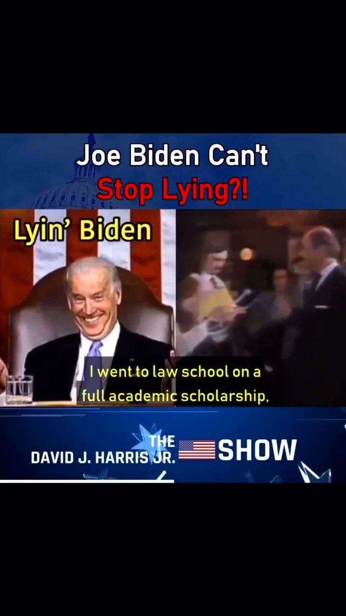 """Graduated at the bottom of his class."" As Trump previously said this week, Biden was never known as a smart man. #LyingBiden #BidenIsAPredator #CrazyBiden #joebidensaidIaintblack #JoeBidenIsARapist #IBelieveTara"