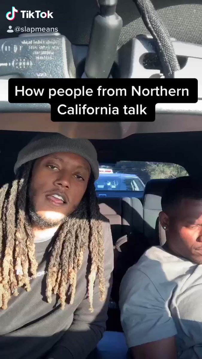 How people from Northern California talk  @slapmeans on tiktoc #california pic.twitter.com/cqAGupyl6b
