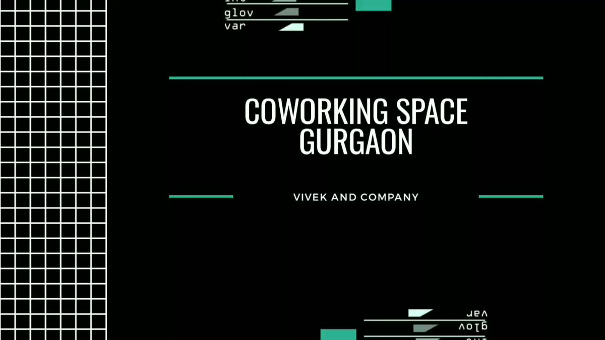 Coworking space in Gurgaon  Vivek and Company +91 9990365408  #sharedoffice #gurgaon #workspace #coworkingspace #coworkingoffice #cloudcomputing #bigdata  #businessintelligence  #ArtificialIntelligence #instagram #instadaily #relocation #OnlineMarketing #BigData #OnlineBusinesspic.twitter.com/nMSTgQiQSV