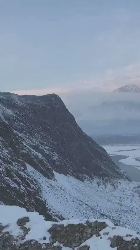 "#IncredibleIndia 🇮🇳  #Skardu Baltistan - #POJK , An integral part of India. . . . . ❗  "" First snowfall of the season From Kharpocho Fort "" . . . . . 👍 जय हिंद जय भारत 🇮🇳 https://t.co/YBOPLnrliW"