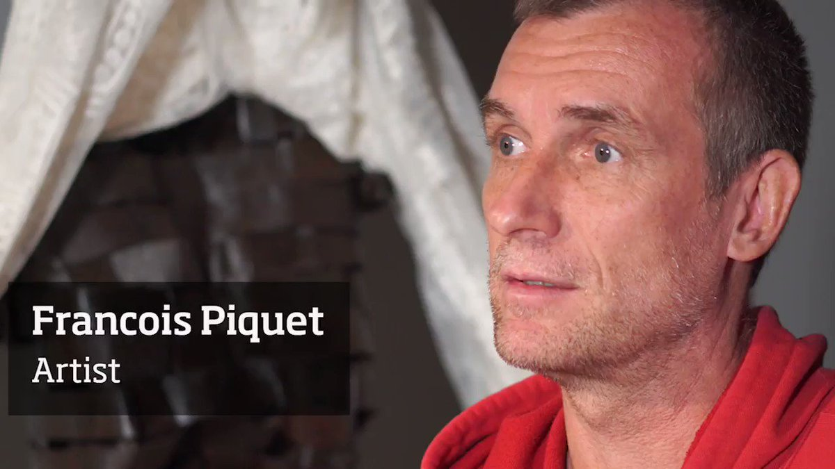 Artist spotlight!  Francois Piquet talks about the power of art, and the connections and impact it can have on people. Tapping into the emotions, and making us think of the past - of the legacy of what we see on display.  Piquet tackles the theme of slavery in the Caribbean.pic.twitter.com/Aj5eg5lEVX