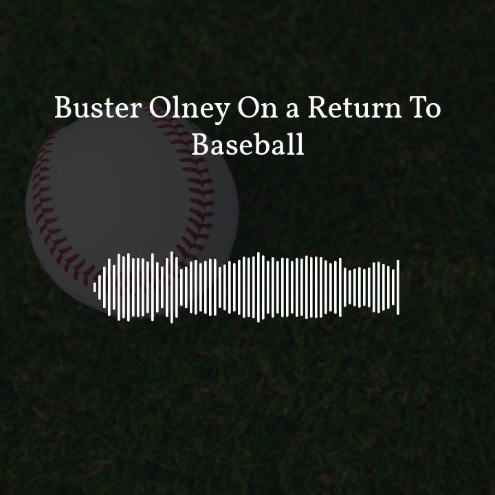 """""""The idea of not having baseball in 2020...is unthinkable."""" @Buster_ESPN joined us this morning and broke down how close we are to a return to baseball."""