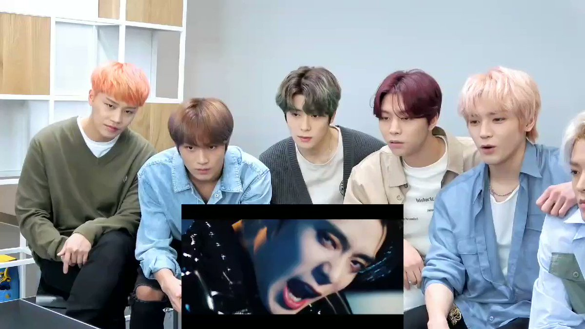 Just #TAEYONG hypping and calling #JAEHYUN handsome #NCT127 #JAEYONG  #Punch #NCT127_Punch @NCTsmtown_127 #NeoZone_TheFinalRound  #MV_Reaction #Ch_NCT  #채널엔시티pic.twitter.com/JSb3b2vgen