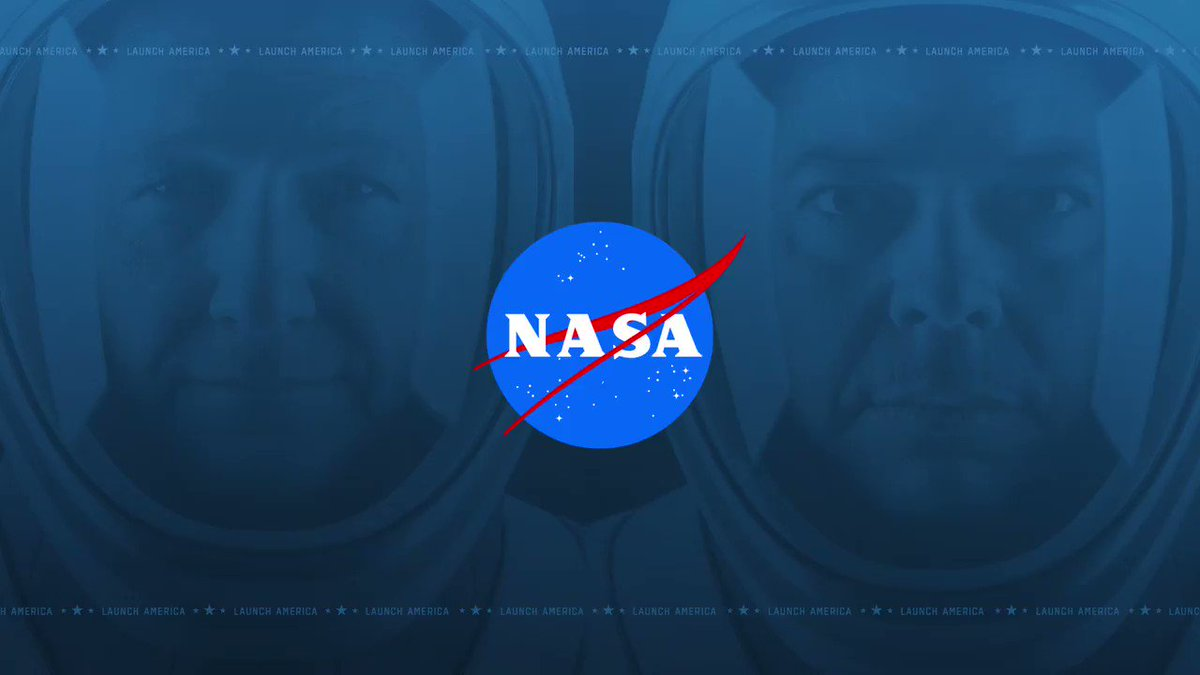 Join us the next 3 days as we take you behind-the-scenes ahead of the Crew Dragon mission to the @Space_station.  Make sure to ask our experts your questions and they may answer them live during the broadcast. #LaunchAmerica   🔴: https://t.co/AB6BDVg5N1