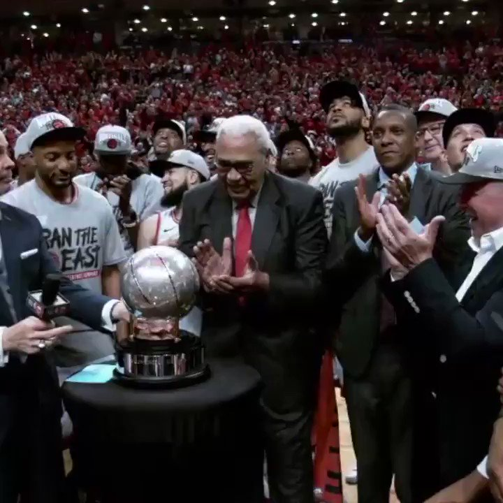 ON THIS DAY (May 25, 2019) the @Raptors clinched their FIRST NBA Finals berth in franchise history! https://t.co/HuxFAmQt4o