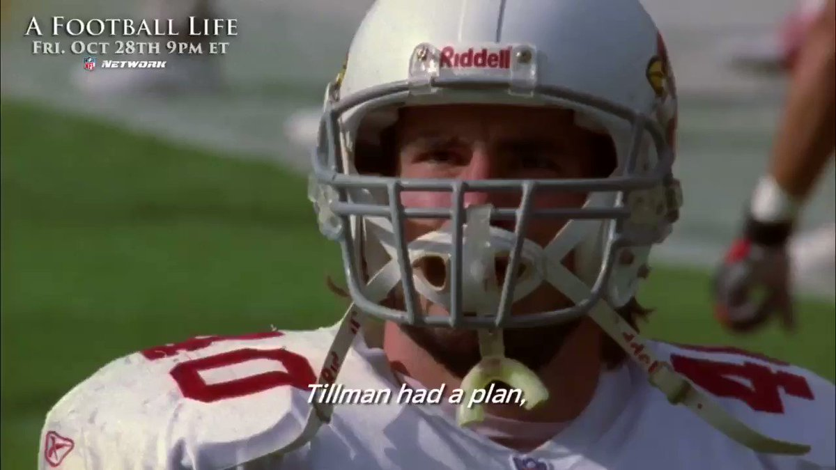 On #MemorialDay we remember Pat Tillman, who gave up his NFL dream to live out another with the @USArmy 🇺🇸 (via @NFLFilms)