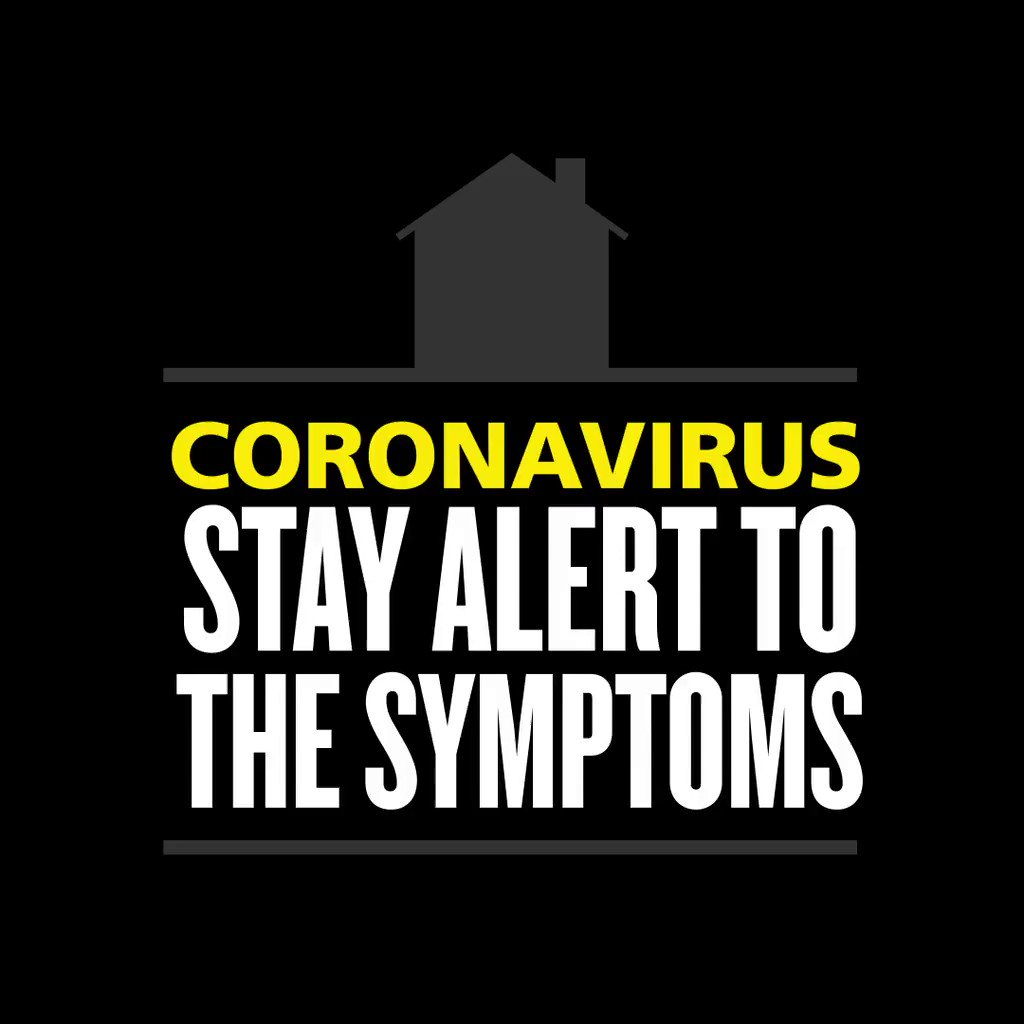 😷 New continuous cough 🤒 High temperature 👃🏽 Loss of smell or taste If you have any of these symptoms ⬆️, you may have coronavirus and you can now book a test online to find out. Find out how to get a test and how long you should isolate ➡️ orlo.uk/Testing_PwGJZ