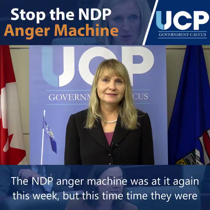 The lack of civility from the NDP has been atrocious. Alberta's NDP has been the least cooperative Official Opposition party across the country and it's time they stopped their anger machine.  #ableg #abpoli