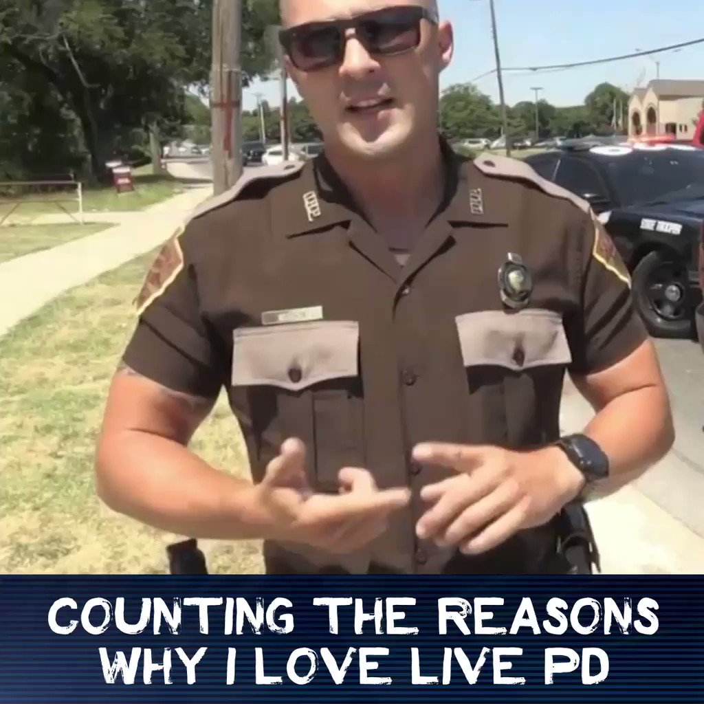 Can we get 300 reasons why #LivePDNation loves #LivePD before we get to our 300th episode? #LivePD300
