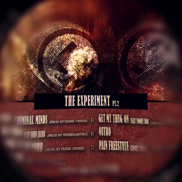"""Frank Grimes x TheRealskitso """"TheExperiment PT. 2 EP"""" Out Now Linkinbio  #hiphop pic.twitter.com/taV4cPz7m3"""