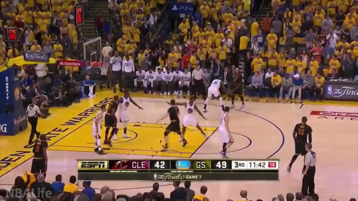 2016 NBA Finals   Game 7 - J.R. Smith key 3rd Quarter comeback momentum buckets @TheRealJRSmith #NBATwitter #player pic.twitter.com/HbNBIKZEaD