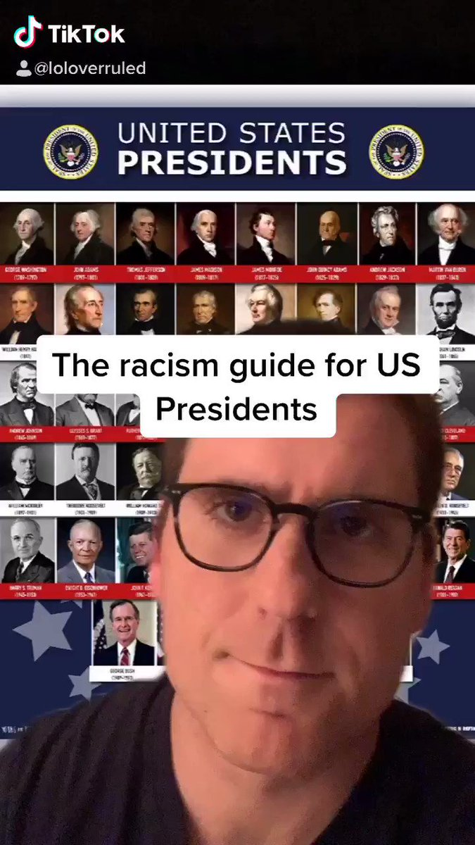 Racism guide for US Presidents