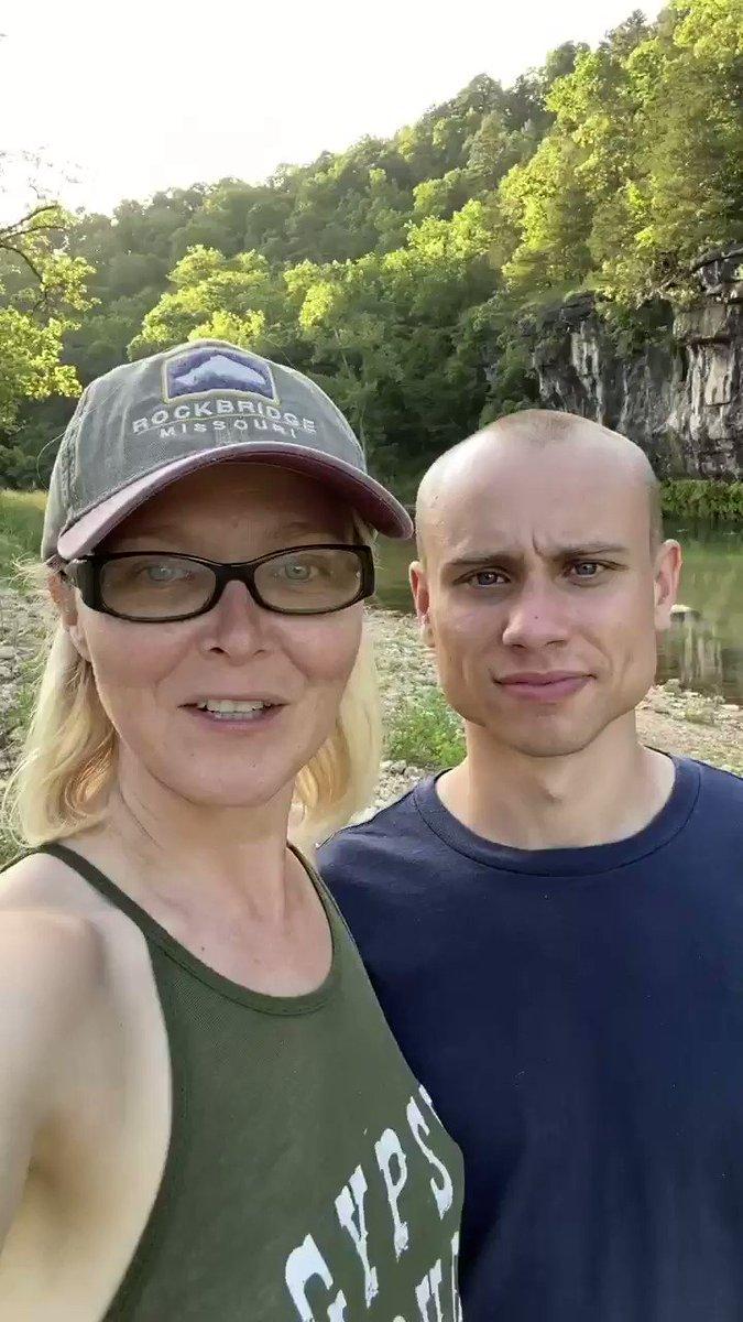 Image for the Tweet beginning: @elenochle From the Missouri Ozarks WWG1WGA @yarbroughdane93