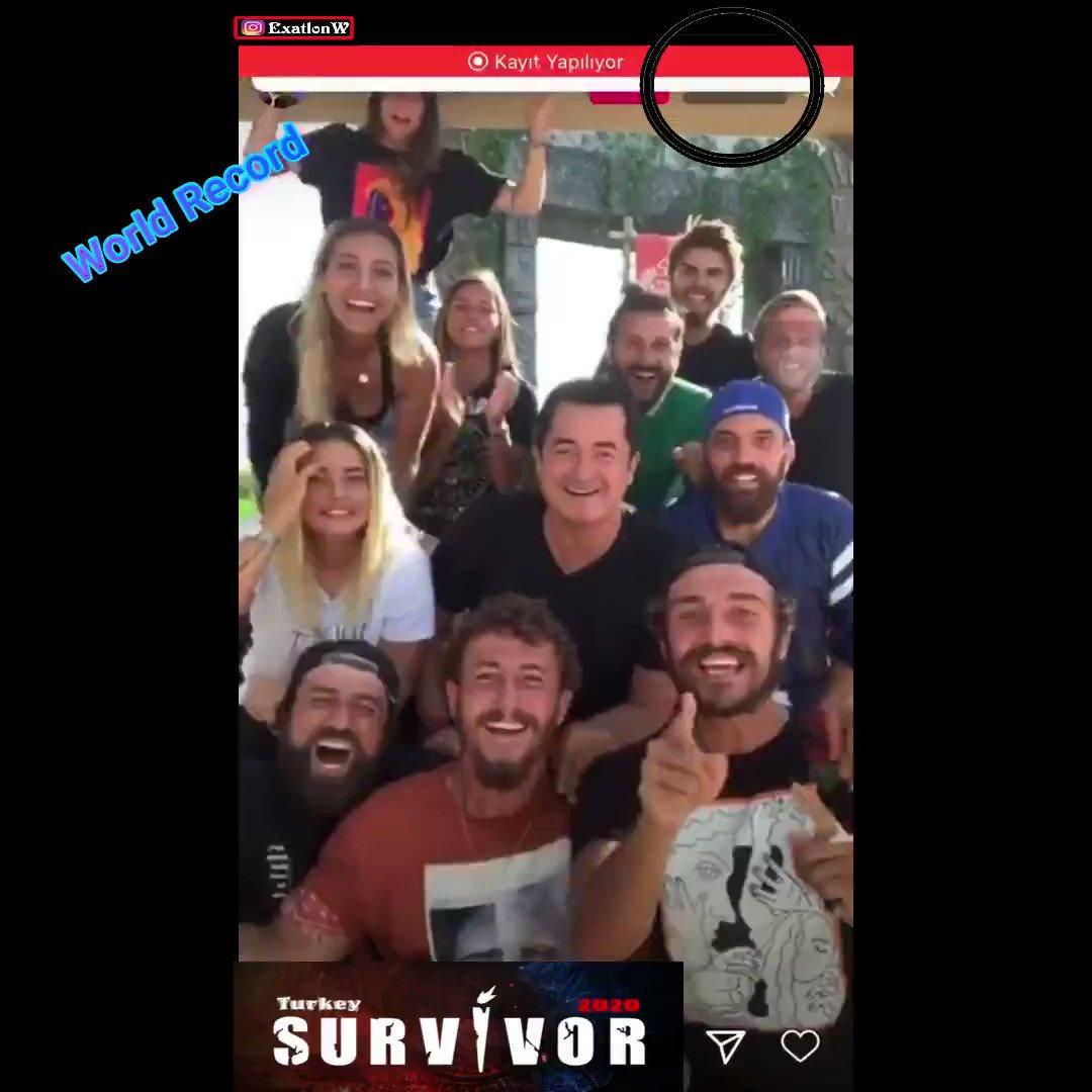 #SurvivorTürkiye 2020 ekibi instagram canlı yayınında 3 Milyon kişiye ulaşarak dünya rekoru kırdı  #Survivor #Exatlon #Survivor2020 #tv8 #survivorgönüllüler #survivorünlüler #SurvivorGR #dominicanrepublic