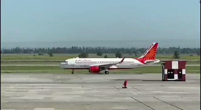Air India reaches Kyrgyz Highlands in Central Asia to take citizens home @PMOIndia @DrSJaishankar @MEAIndia @IndianDiplomacy @MFA_Kyrgyzstan twitter.com/IndiaInKyrgyz/…