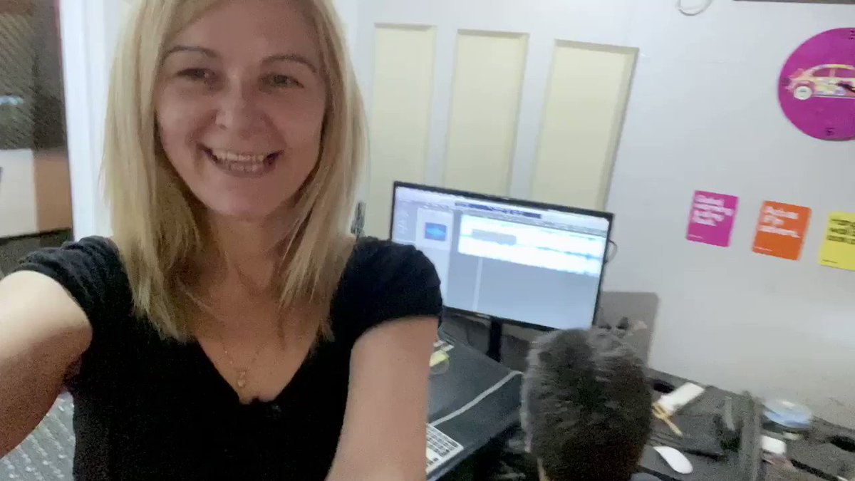 Behind our #MixingDesk:  Happy Tuesday Sunshine from our #ControlRoom. Our #aircon is on 11, our ears are sharp and fingers fast! #studiolife #lockdownwork #mixing #audioediting #mastering  02088839641pic.twitter.com/4xvzhygupV