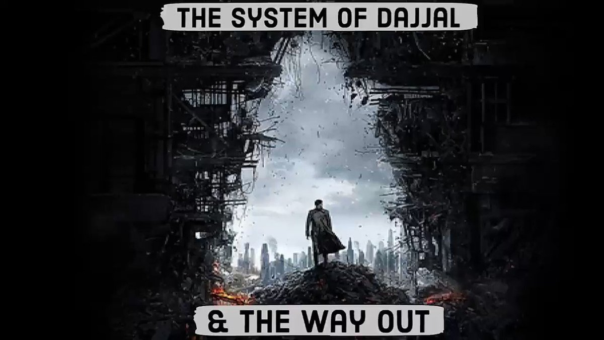 The System Of Dajjal & The Way Out..  Muhammad Qasim Ibn Abdul Karim. Part: 1 OF 3 @MuhammadQasim_3  #Muhammad_Qasims_Dreams  #dajjal #Illuminati #IlluminatiGUY #ImamMahdi #gazwaEHind #قادیانی_دنیا_کا_بدترین_کافر #محمدبن_قاسم_فاتح_سندھ #MohammadBinQasimRealHeropic.twitter.com/Ofj5HcchXb