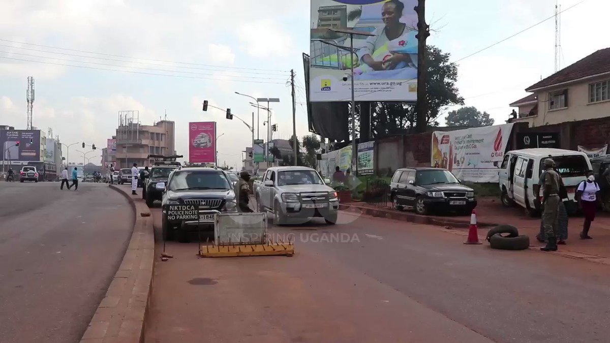 .@PoliceUg has raised concern over lack of collaboration from individuals who think they are above the law. With the private cars back on the road today, @PoliceUg had a busy morning sensitizing pedestrians & private car owners on measures aimed at curbing #COVID19. #UBCNews