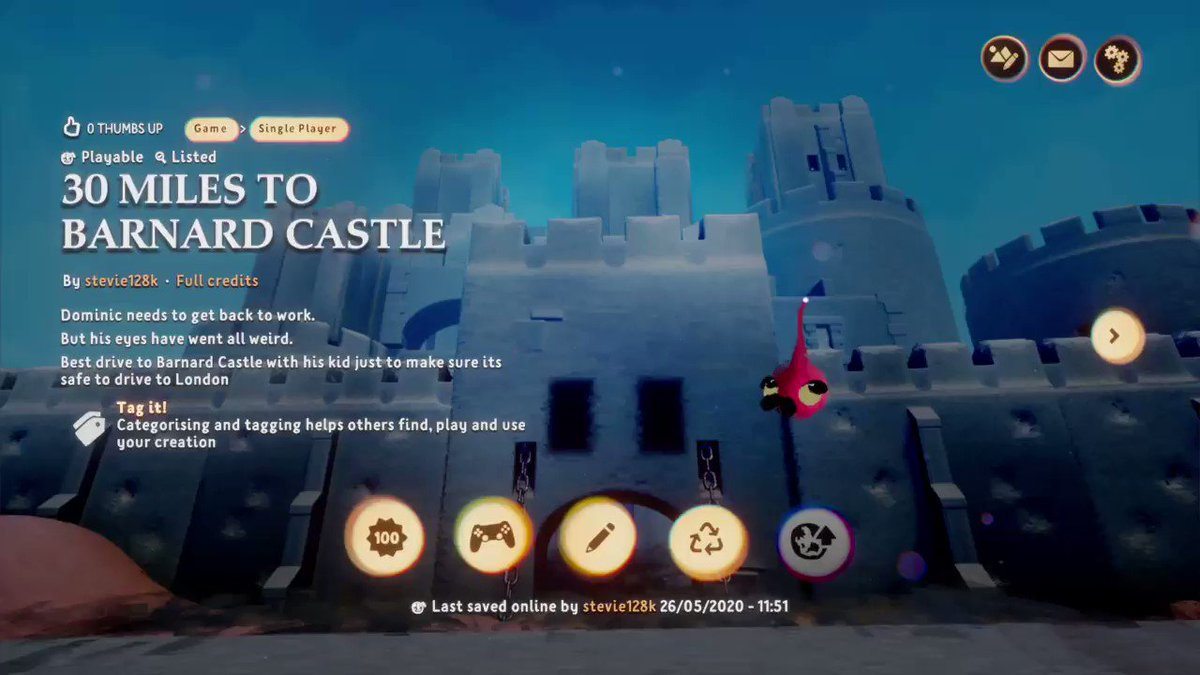 30 miles to Barnard Castle #MadeInDreams #DomCum #PS4share store.playstation.com/#!/en-gb/tid=C…