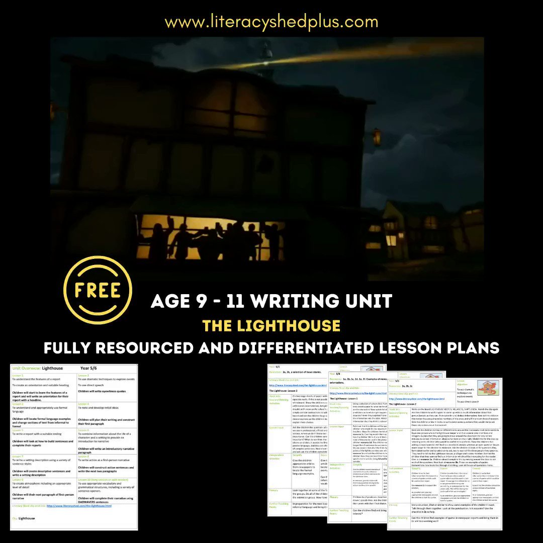 Two weeks free planning here if you want it! literacyshedplus.com/en-gb/browse/f…