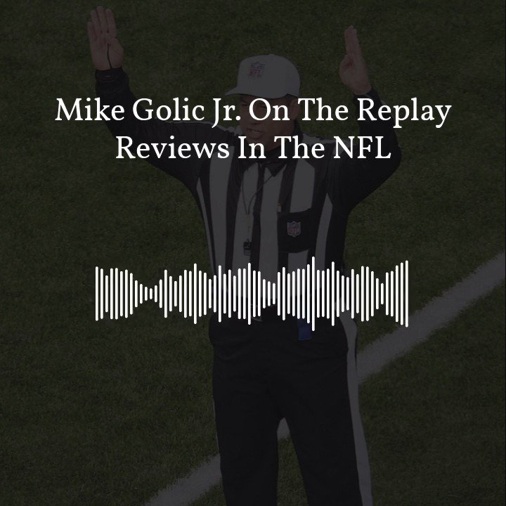 """""""I think this didn't work for one reason and one reason alone...and that's because the group of refs didn't want it to."""" -@mikegolicjr on why the pass interference replay rules didn't work last season."""