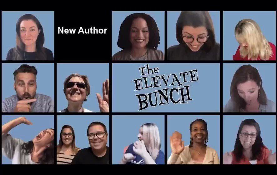 The @ElevateBooksEdu Family is adding a new author into our Elevate Bunch Zoom calls . . . BIG announcement coming soon!! #edchat #aussieED #cuechat #caedchat #tosachat