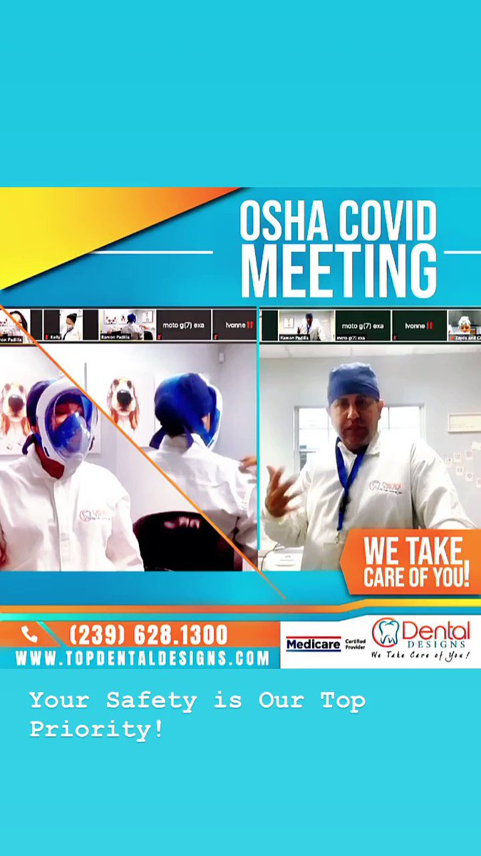 Your Safety is Our Top Priority! . The health and safety of your family and our team members has always been our highest priority.    #OSHA #againstcovid19 #hygieneprotocolspic.twitter.com/1paV8CkkNN