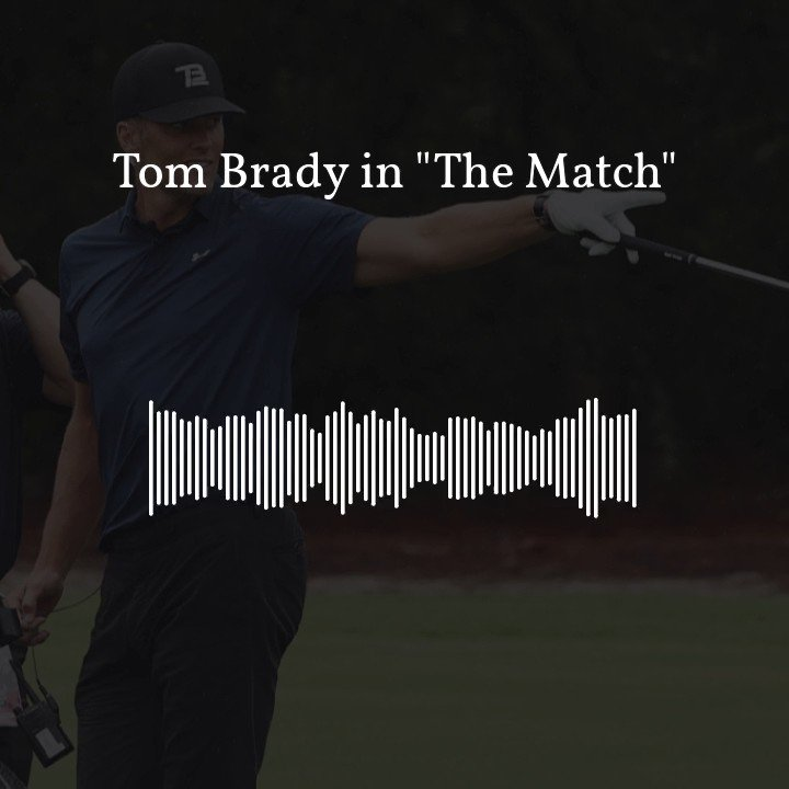 """""""He looked SO SHOOK!"""" -@wingoz and @mikegolicjr took a little too much pleasure in watching Tom Brady struggle on the golf course over the weekend..."""
