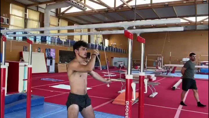 Nicolau Mir ha retomado sus entrenamientos en el CTD Islas Baleares de Palma de Mallorca, centrado en su recuperación tras la operación de hombro 💪🏼 #NuestraMejorVictoria #TeamESP #GAM @nicolaumir_ https://t.co/ND4Nso4zoW