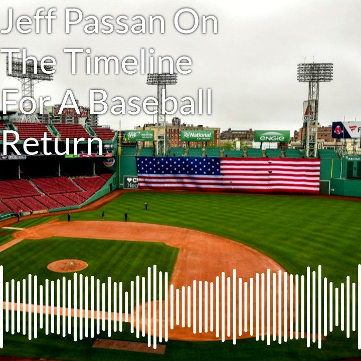 """""""There are a lot of different elements to this that make a deal needing to be done by early June at the absolute latest a necessity if you want to stick to this timeline that you've put out there."""" -@JeffPassan on the clock ticking down for a return to baseball."""