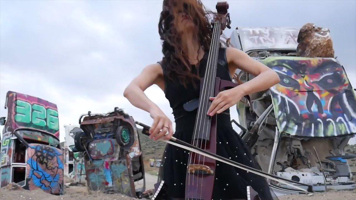 "New original video ""A Sea of Clouds"" ( watch the full version )  https://bit.ly/3ecIJya | by @Mari_cello #music #musician #nature #fashion #cello #Nevada #mariko #marikocello #instrumental #Creativepic.twitter.com/PkVvhHPXi6"