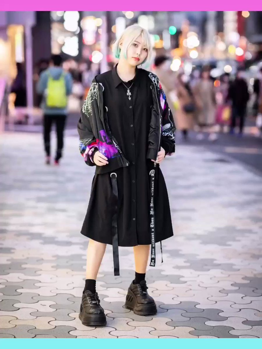 ✰ Street Snap at Harajuku, Tokyo ✰  Please check the photos on our Instagram page!   #Harajuku #HarajukuFashion #Tokyo #TokyoFashion #Japan #JapaneseFashion #Jfashion #AlternativeFashion #StreetSnap  https://www.instagram.com/p/CAaOPCCjQvF/?igshid=tfaskfkj5w0x…pic.twitter.com/KXT5XIHvPT