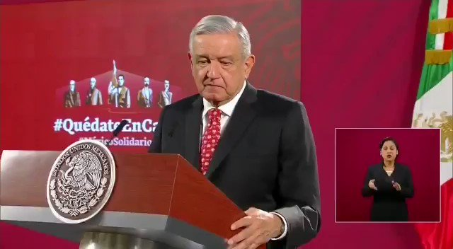 Image for the Tweet beginning: 🔴 Al presidente @lopezobrador_ le