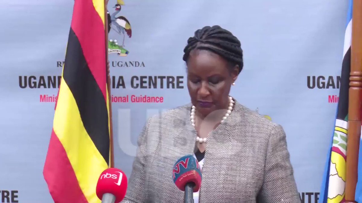 Hon. @AmeliaAKyamb has sensitized the public following the phased opening of the lock-down, calling for adherence to the given guidelines to enable smooth transition to normalcy. #UBCNews