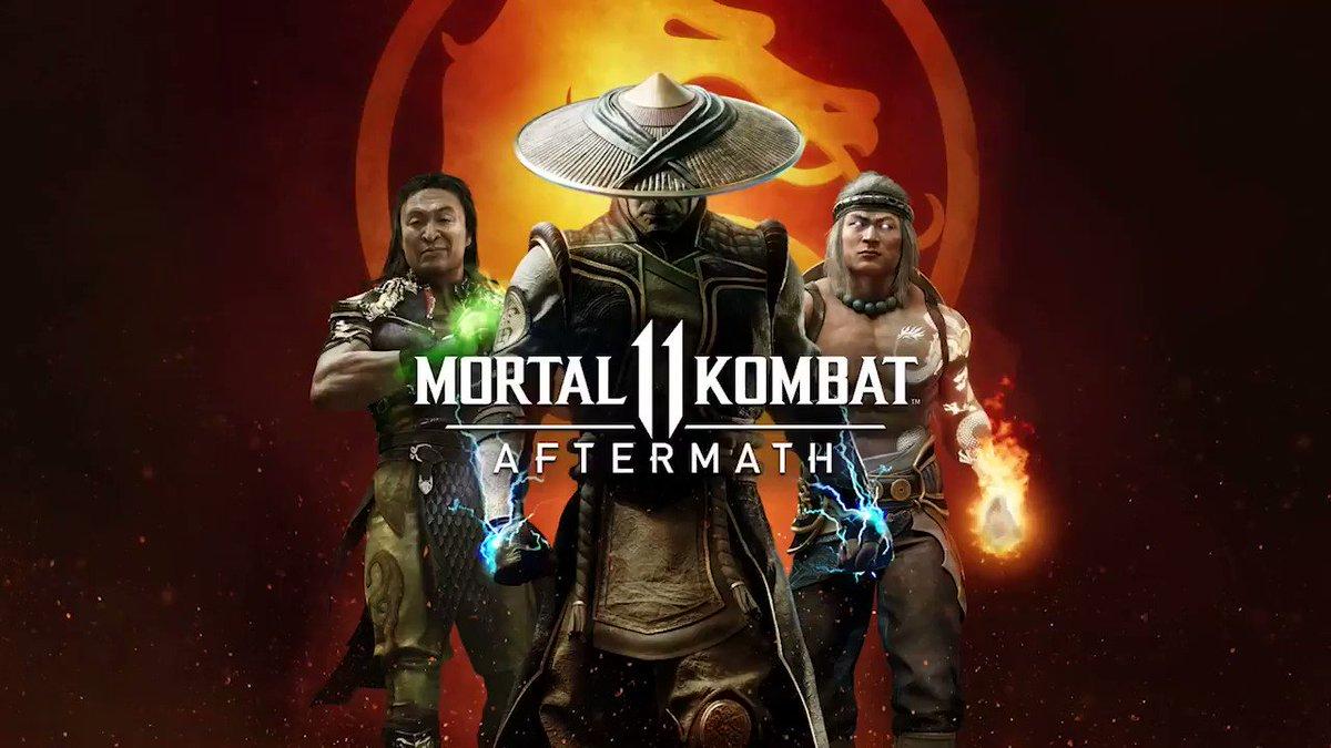 Die Erweiterung @MortalKombat 11: Aftermath ist jetzt erhältlich! Sie beinhaltet brandneue Charaktere und erweitert die Storykampagne von #MK11! #MKAftermath