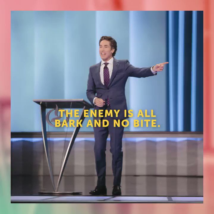 """The scripture says, """"God's Word will not return void."""" It will not be ineffective. When you have God's promises coming out of your mouth, you can't be defeated. Click here to watch, It Has to Go Back: YouTube.com/JoelOsteen"""