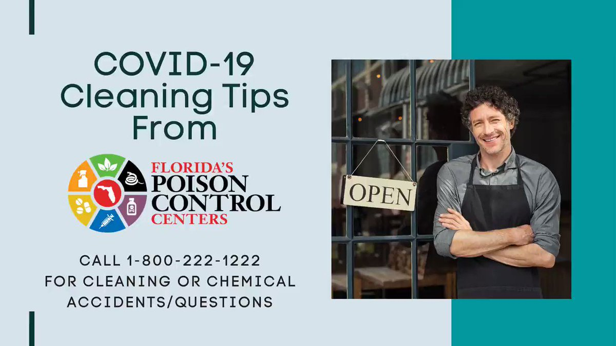 Image for the Tweet beginning: COVID-19 CLEANING TIPS FOR BUSINESSES As