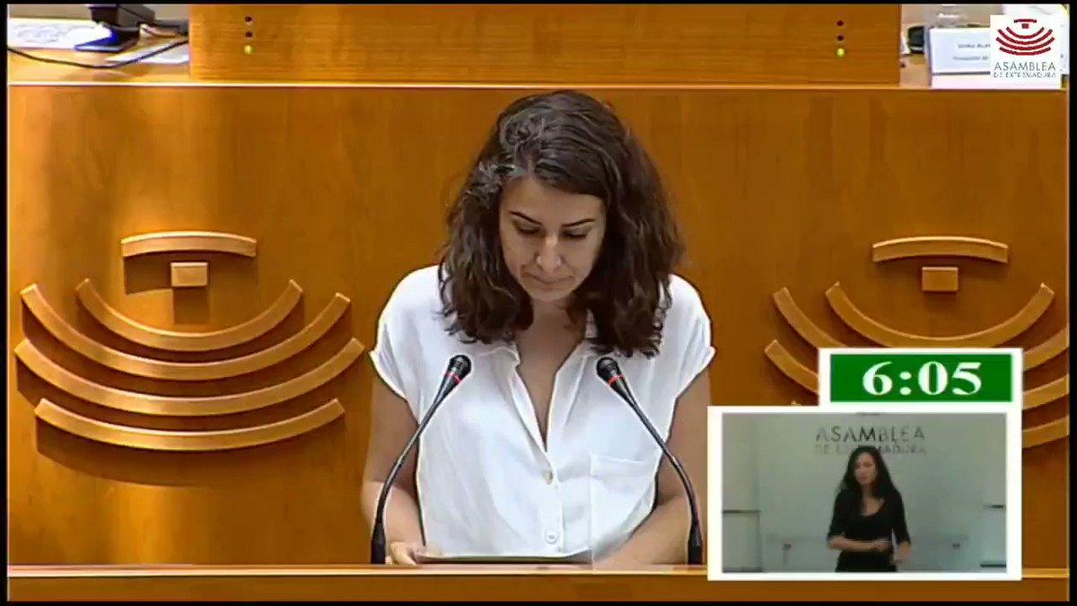 🎥 Aquí os dejamos la intervención de nuestra portavoz @Irenirima reclamándole hoy a la consejera de Agricultura que Extremadura haga estudios de costes específicos para los productos agrícolas de nuestra región 🍒🍒