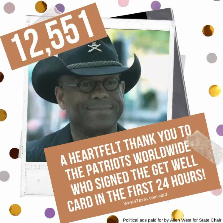Thank you all! Steadfast and Loyal!! #PrayersForAllen