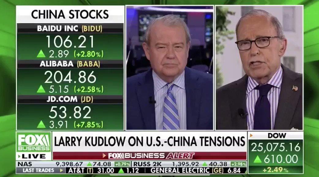 白宫宣布将支付所有搬家费用给美国公司撤出中国和香港! 白宫认为香港已经不存在一国两制了! https://t.co/gLv9jWSNNJ
